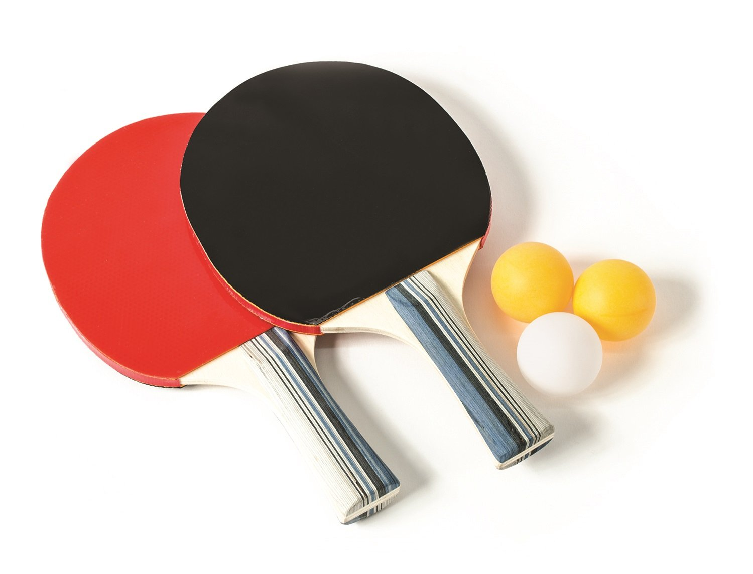 Laser Sports Novelty 2 Player Table Tennis Set, 2 Paddles and 3 Ping Pong Balls