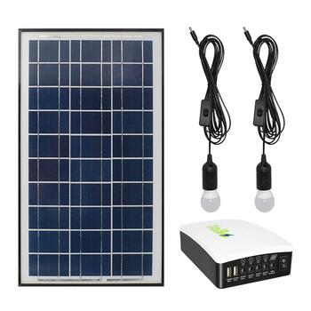 Ion3 Batterie Ampoule Pcs 2 Câble Solaire W Kit 6ah Avec Usb D'énergie Panneau 15 Système Lithium Led Buy Domestique F5ulKJcT31