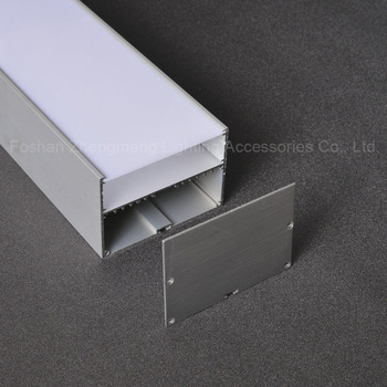 100mm 70mm Wide Led Profile Pvc Felix