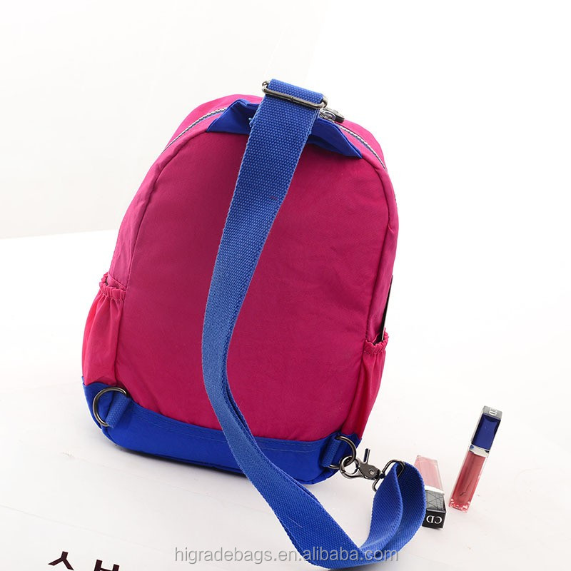 colorful school backpack