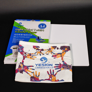 Iron on transfer paper for t shirt heat transfer printing paper light heat transfer paper
