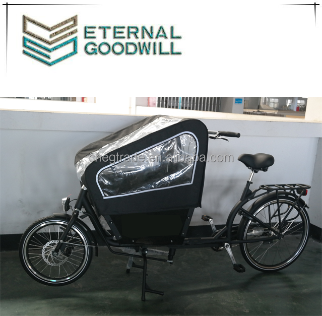 Electric cargo <strong>bike</strong> with two wheels cheap cargo tricycle