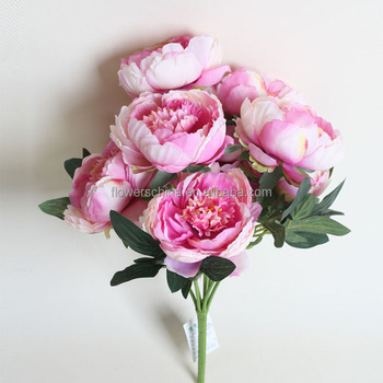 Noble Color Peony Artificial Flowers Home Decoration Buy Artificial - Which-artificial-flower-colors-are-good-for-a-home