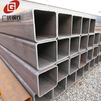 Steel structure welded square metal tube welding machine price list