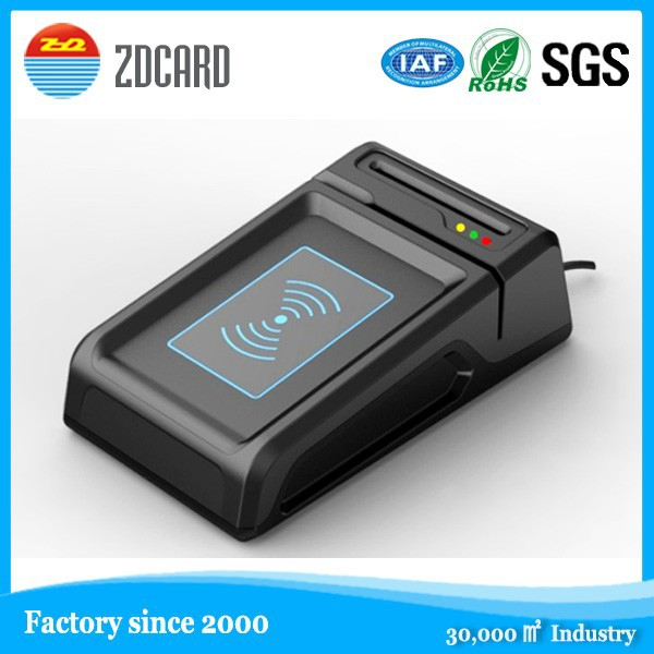 Standard SAM card slot 3 interface rfid reader writer