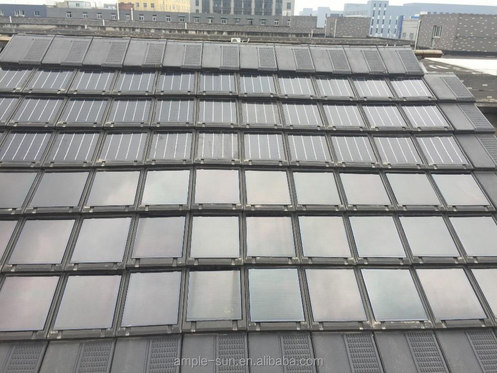 couche mince photovolta que solaire tuile belle et pratique bas prix cellules solaires. Black Bedroom Furniture Sets. Home Design Ideas