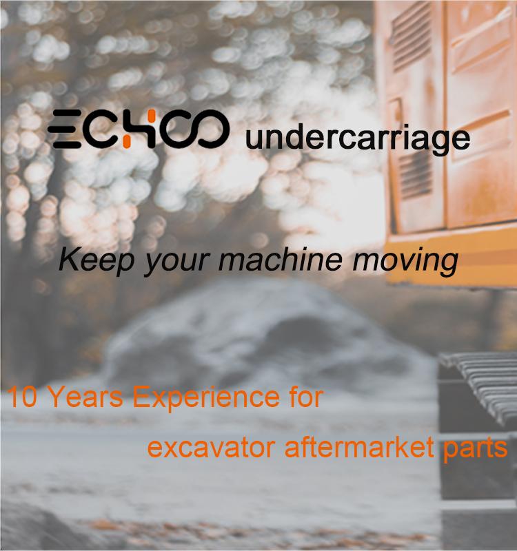 VIO20.1 Mini digger track roller for excavator undercarriage parts