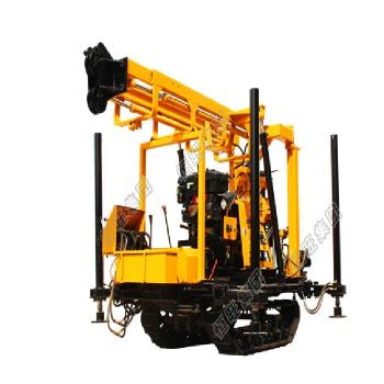 Crawler Mounted Hydraulic Drilling Tower Water Well Drilling Rig