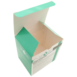 Luxury custom high quality 300 gsm paper box packaging