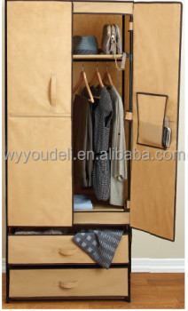 bedroom wooden wardrobe design pictures hot sale assembly new trend cloth cabinet,folding 600D bedroom wardrobe door designs