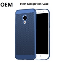 Factory Price OEM Heat Dissipation Net Hard PC Cell Phone Back Cover Skin For Meizu M3 M5 Note M5S E2 Pro 6 Case