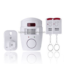 PIR MP Alert Infrared Sensor Anti-theft Motion Detector Alarm Monitor Wireless Alarm system+2 remote controller