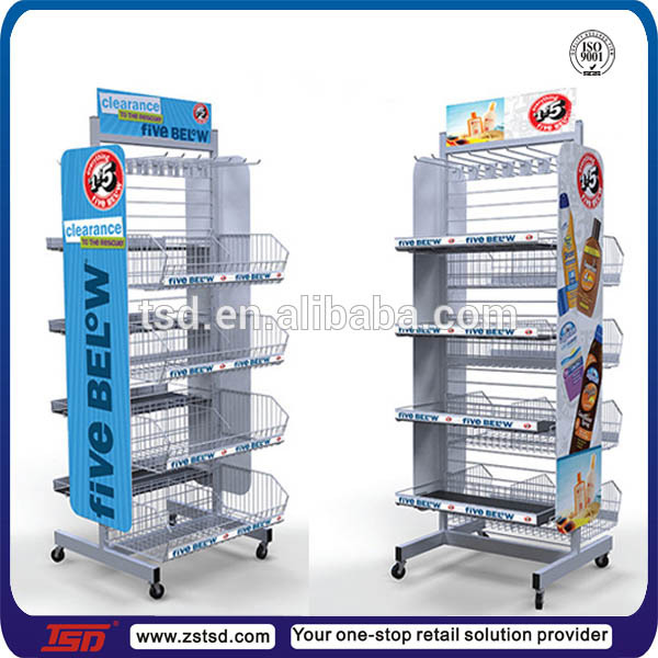 Merchandising Display Stands Tsdm41 Custom Shop Retail Metal Merchandising Display Racks 41