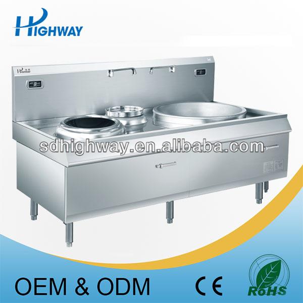 Maquina grande wok y extractor combinaci n wok cocina for Cocina wok industrial