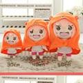 Anime Himouto umaru chan plush toy capucha Doma Umaru figure cosplay doll 30 50cm for girl