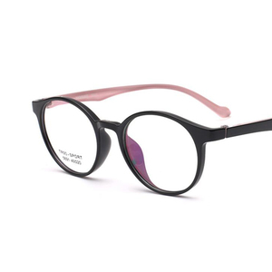6f8e8ac8f146 Lowest Price TR90 Black Round Clear Glasses Transparent Clear Lens Glasses  Nerd Mypio Spectacles Eyeglasses Frames