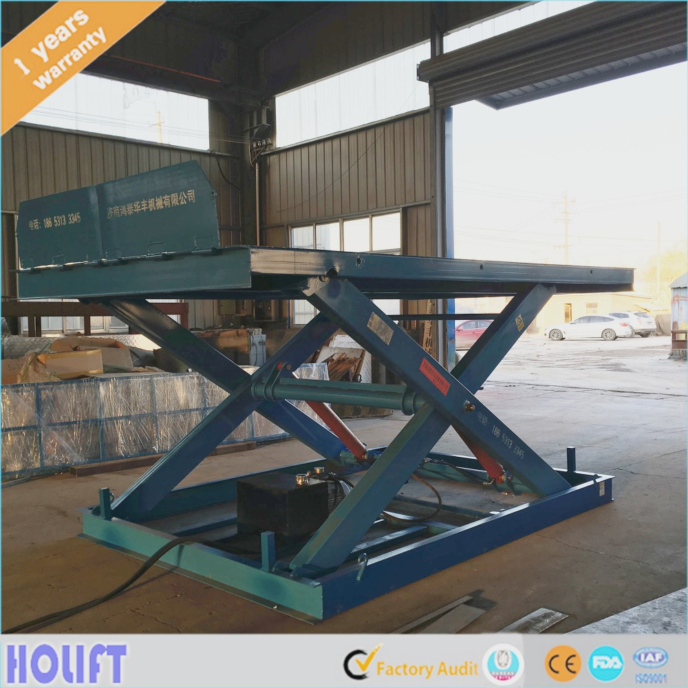 widely used fixed chain lift platform with 5 percent summer sales