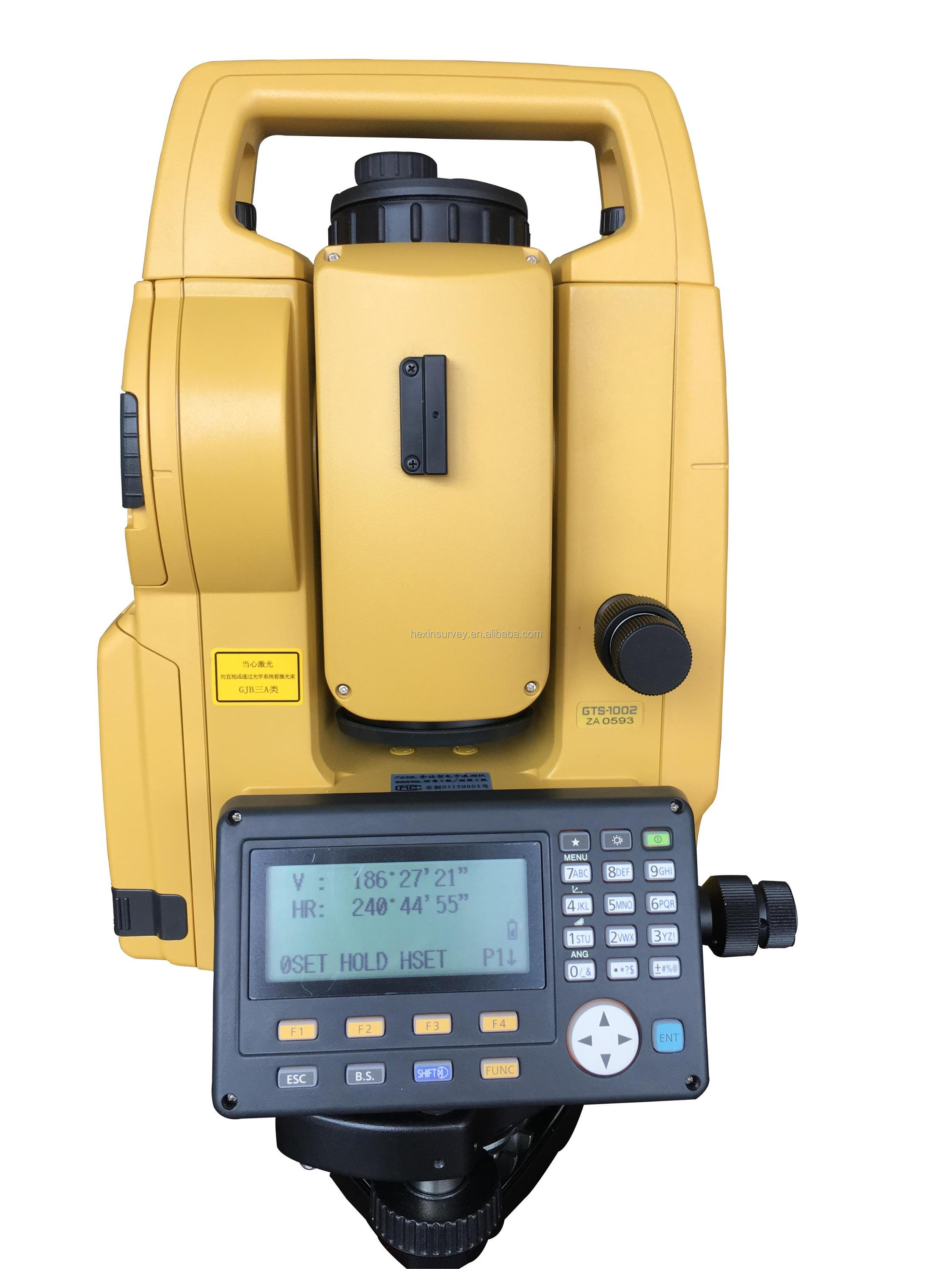 Topcon GTS 1002 Best Total Station USB Data Munication Total Station Price View Best Total Station Topcon Product Details From Shanghai Hexin