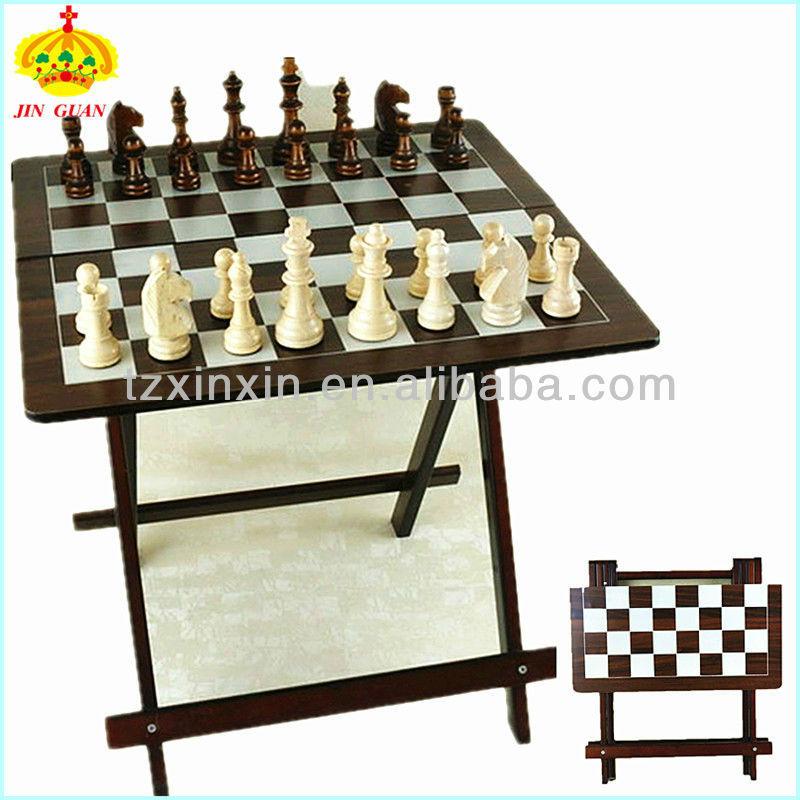 Backgammon Pour Moderne Table Avec D'échecs Pliante CBdxoer