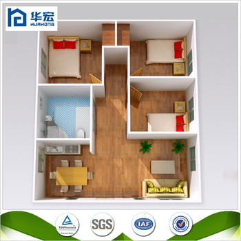 Smart Design Earthquakeproof Steel Frame Prefabricated 3 Bedroom ...