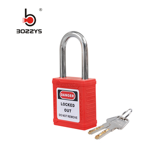 38mm Steel Shackle OSHA Standard LOTO Safety padlock