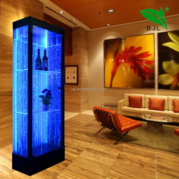 Home Bar Furniture Illuminated Led Corner Bar Cabinet Furniture ...