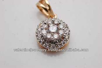 Sweet diamond small pendantcustom made jewelry design in gold and sweet diamond small pendant custom made jewelry design in gold and diamond cluster set aloadofball