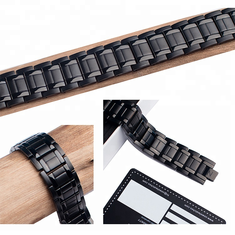 High Quality Stainless Steel 4 in 1 Germanium Magnetic Health Bracelet