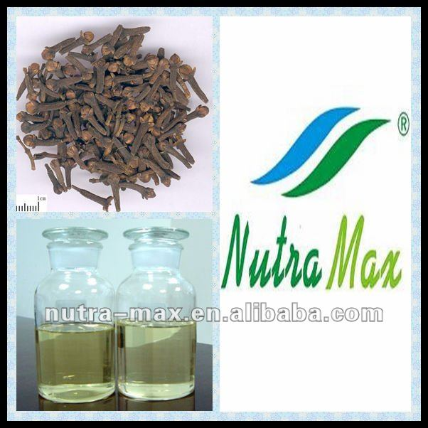 Eugenol Oil from Nutra max (GMP Factory)