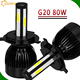 Car led auto bulb 12v 24v G5 G6 L6 G20 led car light 30w 40w 46w h7 g8 led headlight h4 h7 h11 h13 h15 9004 9005 D1 D2 D3 D4 LED