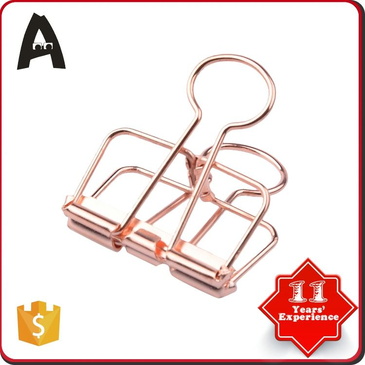 Competitive price factory directly no magnetic shaped binder clips