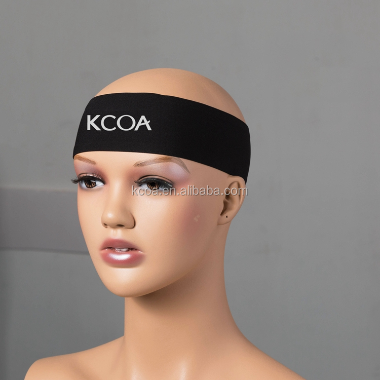 Wholesale High Quality Hair Band Elastic Bandana Sport <strong>Headband</strong> With Custom Logo