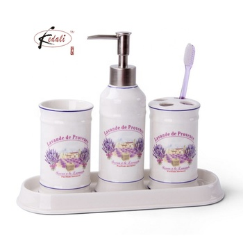 Cheap Ceramic Bathroom Accessories Set For Promotion Set ...