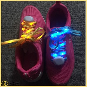 009cb44da819 Luminous Shoelace Fashion Glowing Shoe laces Flashing Colored Neon  Shoestrings chaussures led Party Laces
