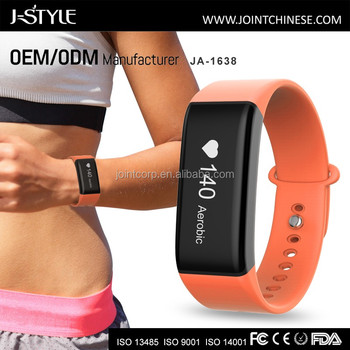 Smart Wristband with Continuous Heart Rate BP Monitoring and Activity Fitness Tracker Bluetooth