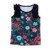 2019 popular sleeveless ruffle print kids clothing baby clothes girls t shirts