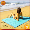 Customized Logo Fashionable Soft Outdoor Travel Microfiber Suede Beach Towel With Pockets