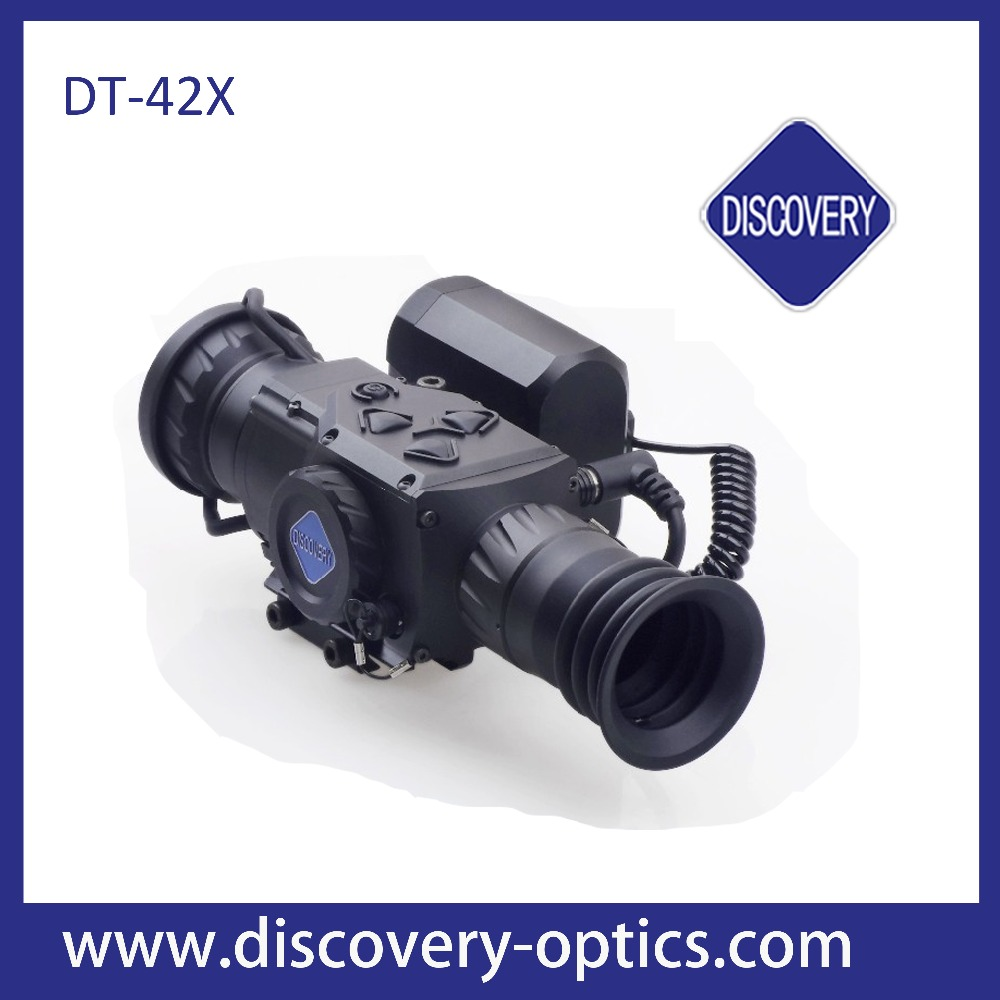Discovery DT-42X thermal imaging rifle scope with night vision HD OLCD Screen