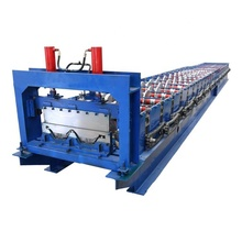 PLC Besturing Hydraulische Snijden Stijl Gegalvaniseerd Staal Self Lock Cold Roll Forming <span class=keywords><strong>Machine</strong></span>