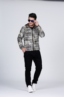 young men winter down clothing