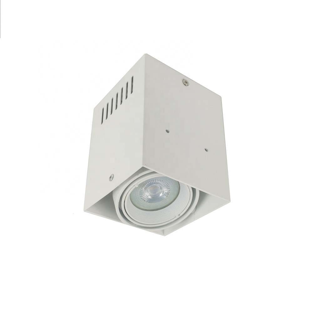 85mm Pure Aluminum Surface Mount Rotatable Spot light ceiling recessed lamp