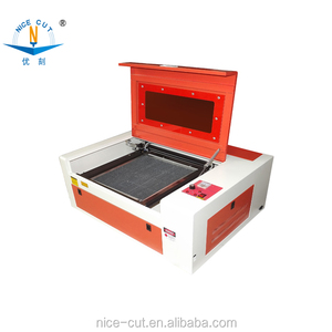 NC-S40 cheap and small laser engraving machine for name badges