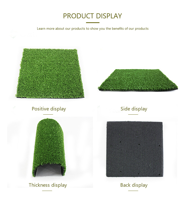 Wall landscape 40mm glue garden artificial synthetic grass