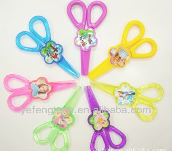safe and color scissors for kids / promotional Color Scissors