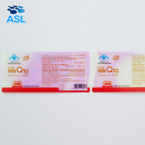 OHSAS Certified Self-adhesive Packing Barcode Label Sticker Zero VOC Health Care Product Laser Label