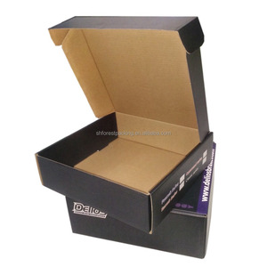 Custom printing tuck top corrugated mailer paper packing box for T-shirt and clothes on sale