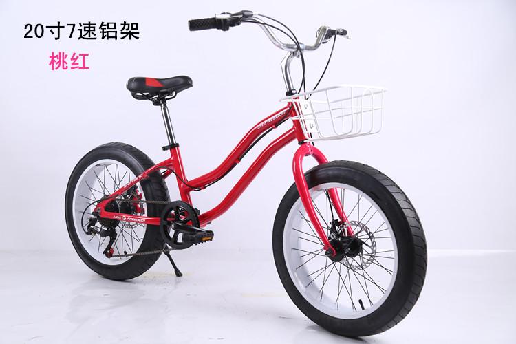 20 zoll frauen schnee fahrrad 3 0 breite fett reifen 7. Black Bedroom Furniture Sets. Home Design Ideas