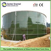 fuel/oil/petroleum storage enamel coated bolted steel tank