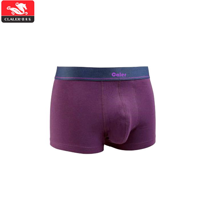 Custom mannen boxers soft touch ondergoed mannen mature heren ondergoed boxers