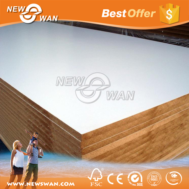 Coloured Laminated Melamine MDF 18mm for TV Wall